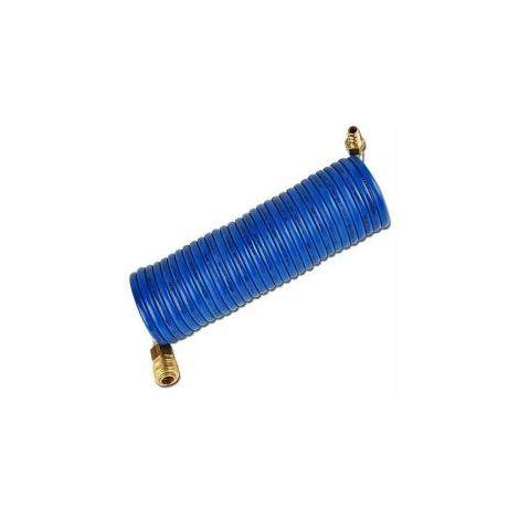 Spiralschlauch – Innen-Ø 6 mm - Außen-Ø 9 mm - Arbeitslänge 4 m - gestreckte Länge 7,5 m - Preis per Stück