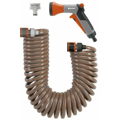 Spiralschlauch-Set-Aktion 10 m. komplett mit Classic Bewässerungsbrause und Systemteilen | 4646-20