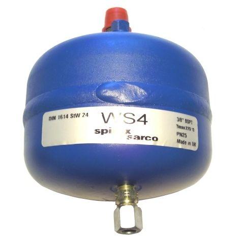 "Spirax Sarco 2012600 WS4 Water Seal Pot 3/8"" BSPT DIN 1614 StW 24"