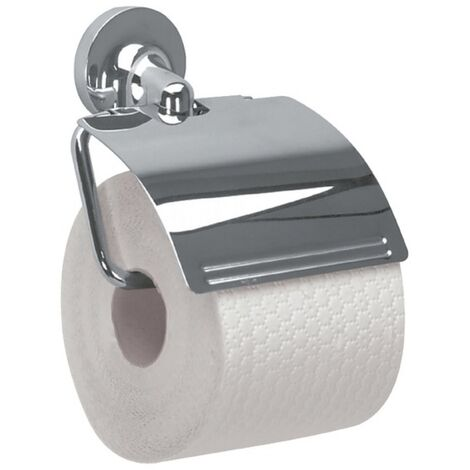 Spirella Porte rouleau papier WC Mural Métal LAGUNE Gris - Gris