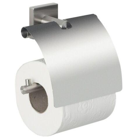 Spirella Porte rouleau papier WC Mural Métal NYO Acier Gris - Gris