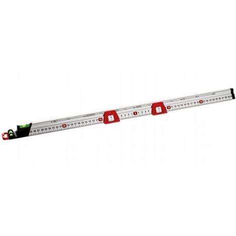 Spirit level measuring rail level uni 60 cm