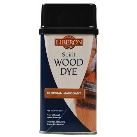 Spirit Wood Dye Georgian Mahogany 250ml (LIBWDSGM250)