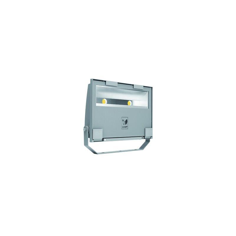 LED-Strahler 78W GUELL 4000K 9289lm gr 2LEDs IP66 metallic Konv breitstrahlend - SPITTLER