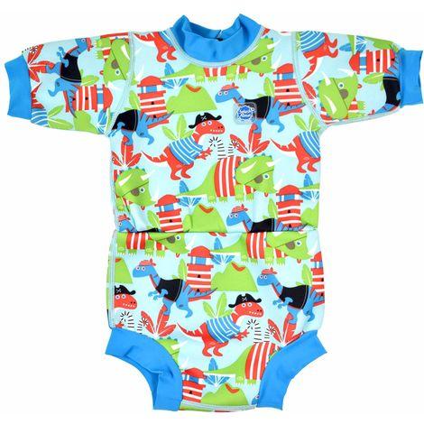 Splash About Happy Nappy WETSUIT Baby Toddler Neoprene UV Integrated HAPPY NAPPY