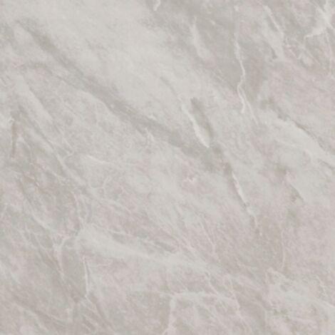 SplashPanel Light Grey Marble 1000mm x 2400mm x 10mm Wall & Bathroom Panel