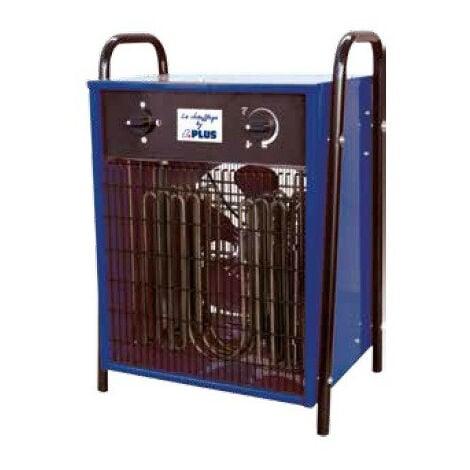 SPLUS - Aérotherme électrique 5 / 10 / 15 kW Tri 400V 58°C max. - ELP 15.1