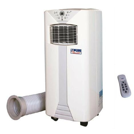 SPLUS - Climatiseur mobile industriel puissance froid 2350 W, puissance thermique 2100 W reversible sur roues - CM 25 TR