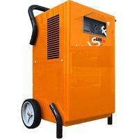 SPLUS - Déshumidificateur professionnel mobile avec roues chantier 200 m³/h 730W - DM 30.1