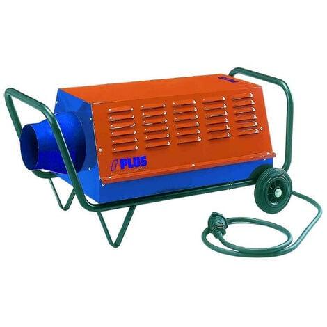 SPLUS - Générateur air chaud électrique mobile 6/9/15 kW Tri 400V - GEM 15.1