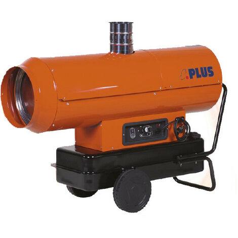 Splus - Générateur d'air chaud fioul auto à cheminée 58,6 kW 700 à 1400 m3 - GF60.1AC