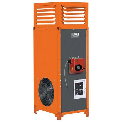 Splus - Générateur d'air chaud Fioul vertical 34,8 kW 2700 m3/h - C35 F3