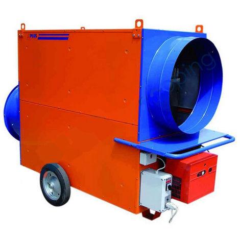 Splus - Générateur d'air chaud mobile maxi fioul avec brûleur 120 kW cheminée 200 mm - MF 140 H