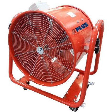 SPLUS - Ventilateur mobile hélicoïde sur roulettes 1,1 kW 230 V 9000 m3/h - VR 50 PRO