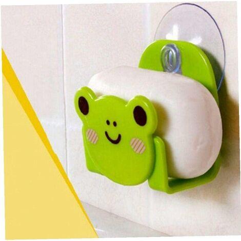 "main image of ""Sponge Sink Kitchen Holder Cartoon Suction Cup for Sink Caddy Organizer Bathroom Random Color"""