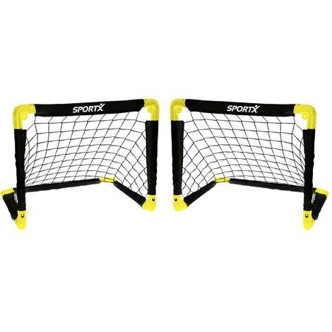 SportX Foldable Soccer Goals 2 pcs 55x44x44 cm