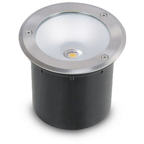 Spot 230V encastrable extérieur LED COB 3W Rond