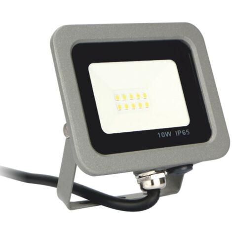Spot à LED silver electronics forge ips 65 10w - 5700k cold light - 800lm colour grey