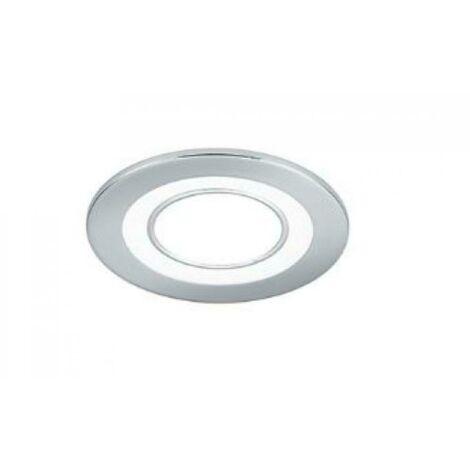 Spot a' leds a' encastrer 3. 5-1. 5w lumie're chaude 3000k couleur plastique blanc mat 652510131