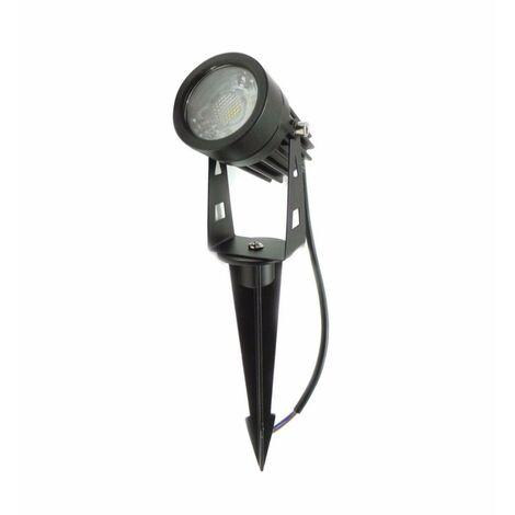 Spot à Piquer LED extérieur IP65 3W COB