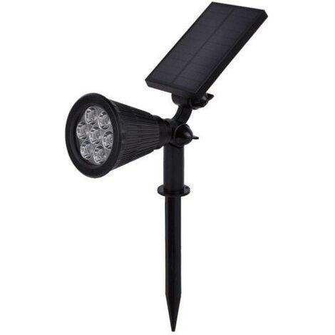 Spot à piquer LED Solaire pour Jardin 1.5W 6V DC - Blanc Chaud 2300K - 3500K