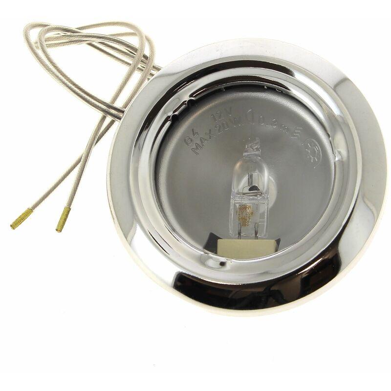 Electrolux - Spot + ampoule halogene 12v 20w pour Droguerie Accessoire, Hotte Rosieres, Hotte Candy, Hotte
