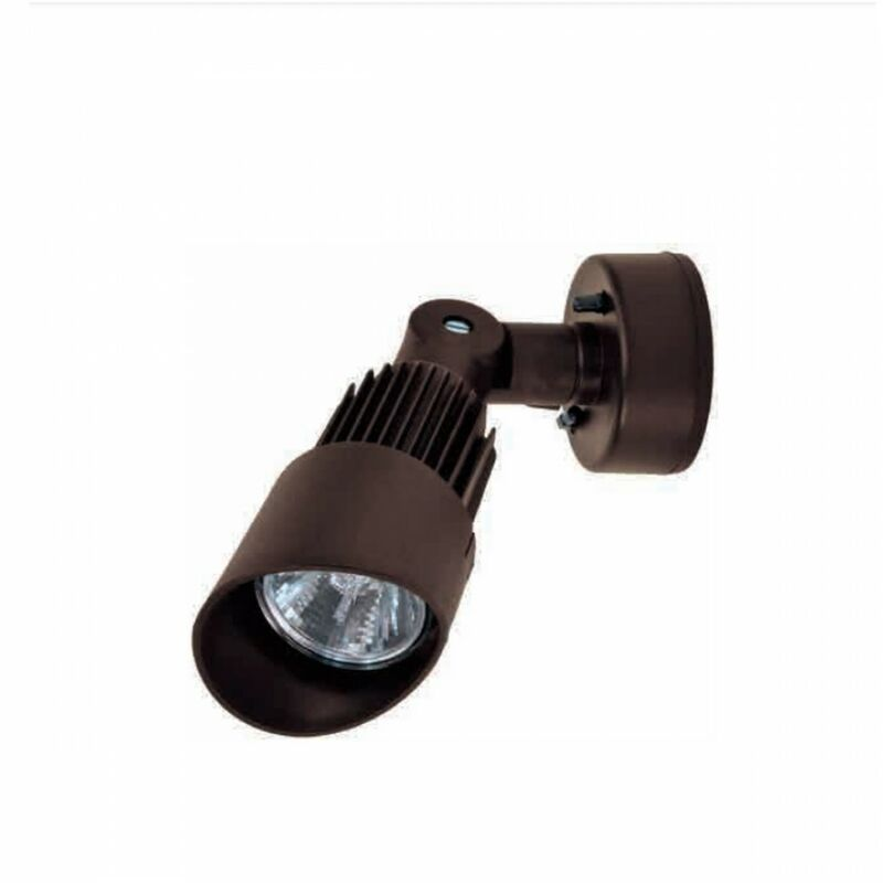 Spot ba-par20 applique parete orientabile moderno duralighting esterno e27 ip55, colore bronzo - LAMPADARI BARTALINI ESTERNO
