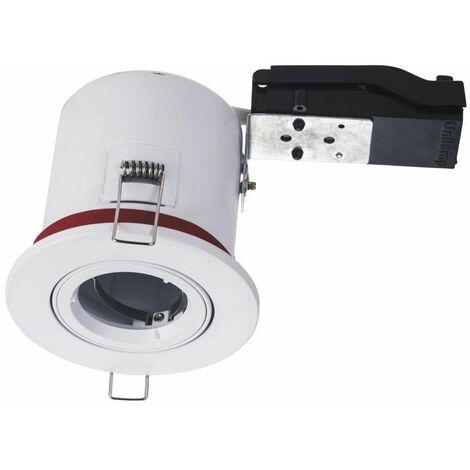 Spot BBC Orientable diametre 100mm avec douille GU10 automatique ref. 8025