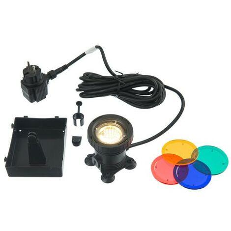 Spot de bassin AquaLight 50 - 60 LED 4 couleurs par lampe