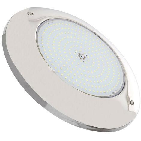 Spot de Piscine LED en Saillie 20W Monochrome/RGB/RGBW Acier Inoxydable Blanc Froid 6000K - Blanc Froid 6000K