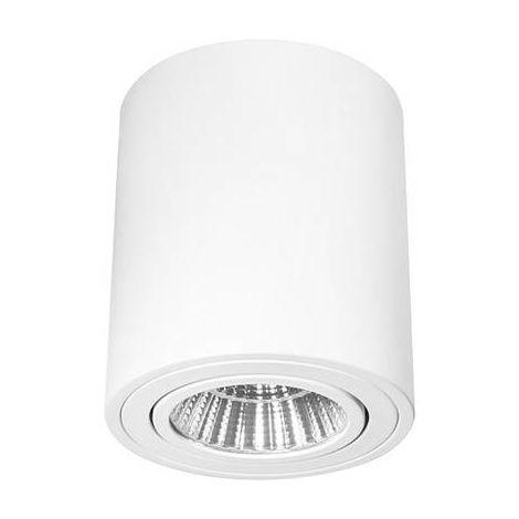 Spot de plafond 12.50 W 1x LED intégrée Barthelme Trieste 80R 62407333 blanc 1 pc(s)