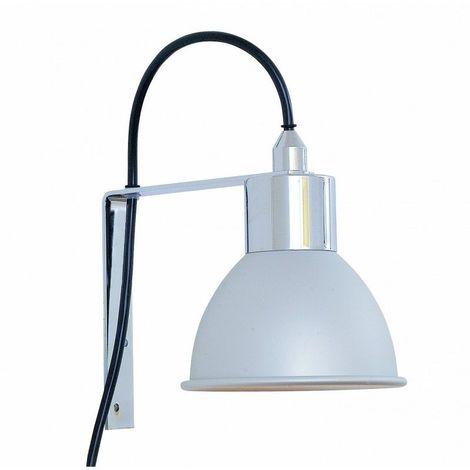 Spot de salle de bain avec éclairage FLUO-COMPACTE - Modèle EXO - 16 cm x  25 cm (HxL)