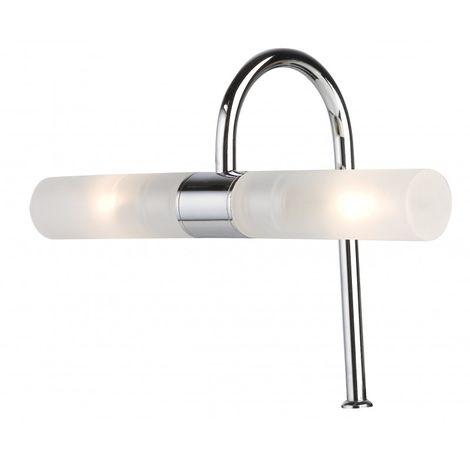 Spot de salle de bain avec éclairage HALOGÈNE - Modèle Retro 4 - 10 cm x 26 cm (HxL)