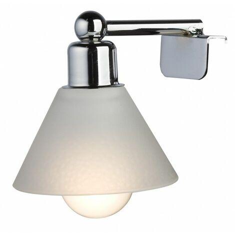 Spot de salle de bains avec éclairage FLUO-COMPACTE - Modèle Retro 6 - 11 cm x 9,5 cm (HxL)