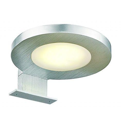 Spot de salle de bains avec éclairage LED - Modèle Rond Led - 3 cm x 10 cm (HxL)