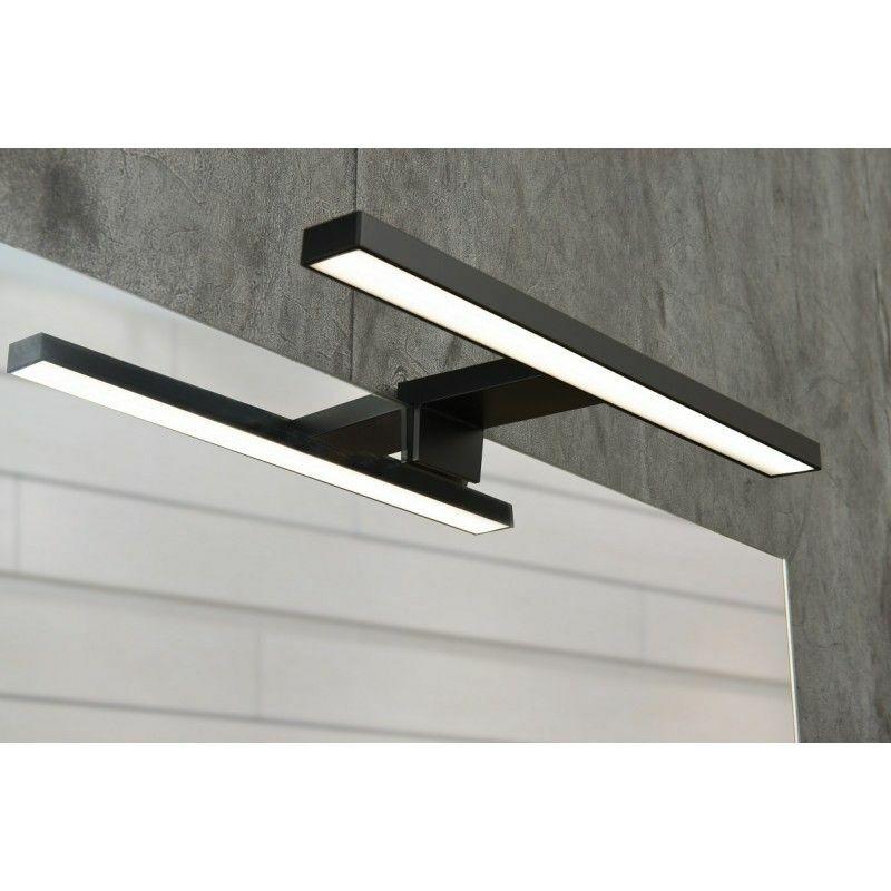 Spot de salle de bains avec éclairage led modèle spot noir