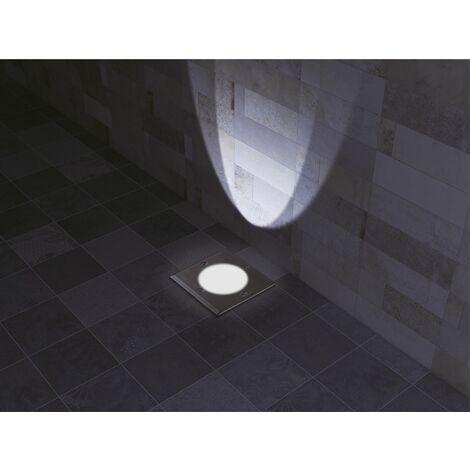 """main image of """"Spot de sol extérieur carré - ROMA - VOLTMAN - 28W IP67 GU10 - Gris"""""""