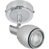 Flex Lampe 504032 Corep Gris Métal Design 8nPX0kOw