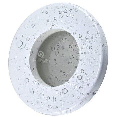 Spot Bain et Douche Etanche IP44 Blanc avec douille ceramique GU5.3