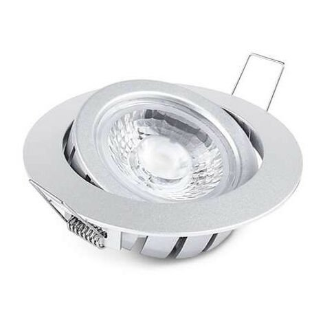 Spot Encastrable 10W LED CREE Équivalent 80W Gris - Blanc Naturel 4100K