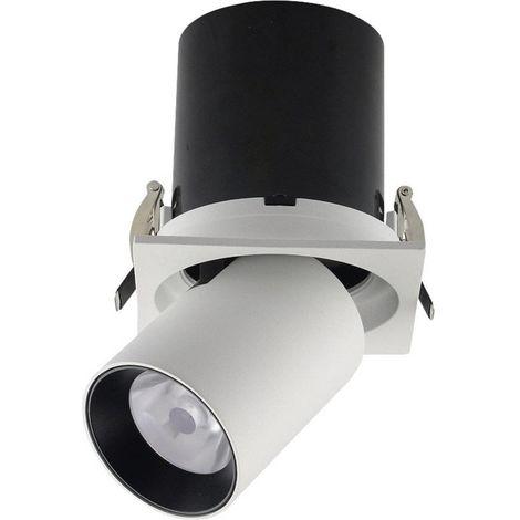 Spot encastrable 18 W 1x LED intégrée V-TAC VT-419 20049 blanc 1 pc(s)