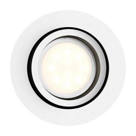 Spot encastrable 5.5 W 1x GU10 Philips Lighting Milliskin 5041131P8 blanc 1 pc(s)