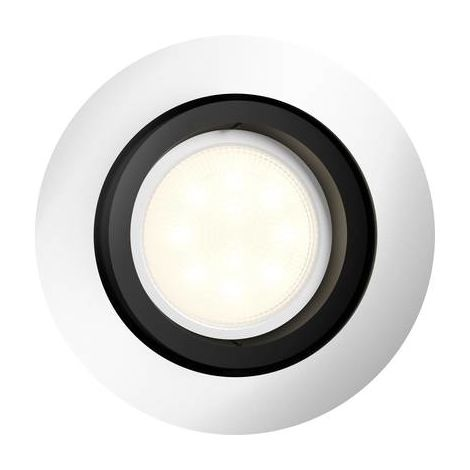 Spot encastrable 5.5 W 1x GU10 Philips Lighting Milliskin 5041148P7 aluminium 1 pc(s)