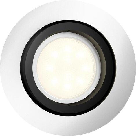 Spot encastrable 5.5 W 1x GU10 Philips Lighting Milliskin 5041148P8 aluminium 1 pc(s)
