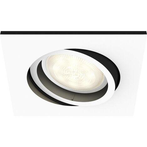 Spot encastrable 5.5 W 1x GU10 Philips Lighting Milliskin 5042131P8 blanc 1 pc(s)