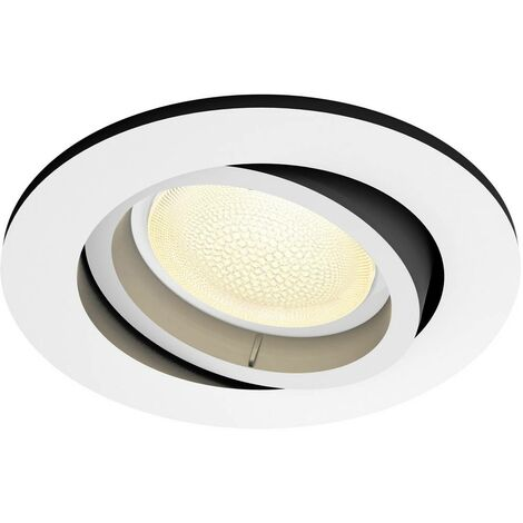 Spot encastrable 5.7 W 1x GU10 Philips Lighting Centura 50451/31/P7 blanc 1 pc(s)