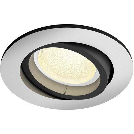 Spot encastrable 5.7 W 1x GU10 Philips Lighting Centura 50451/48/P7 aluminium 1 pc(s)