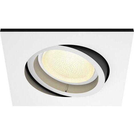 Spot encastrable 5.7 W 1x GU10 Philips Lighting Centura 50551/31/P7 blanc 1 pc(s)