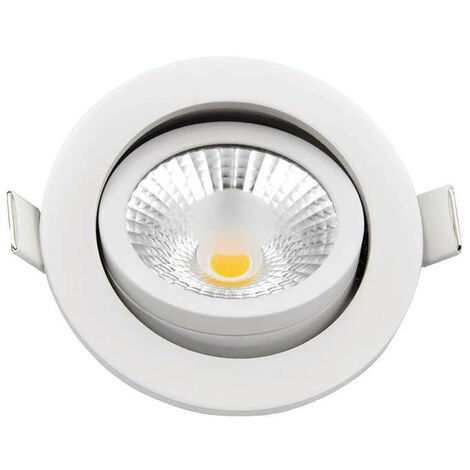 Spot encastrable 8W (70W) LED dimmable - Blanc Naturel 4100K