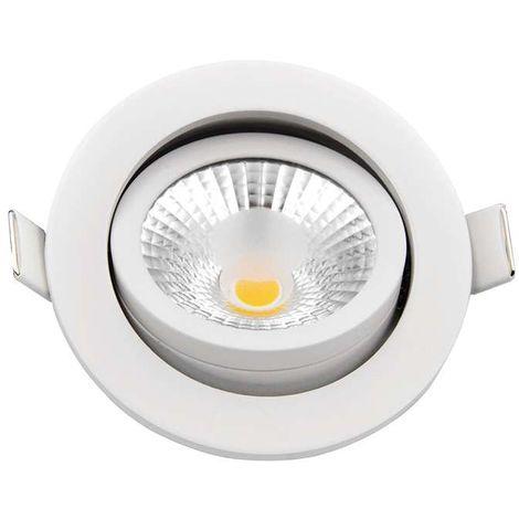 Belle Spot encastrable 8W LED dimmable équivalent 70W   Blanc Chaud YV-41